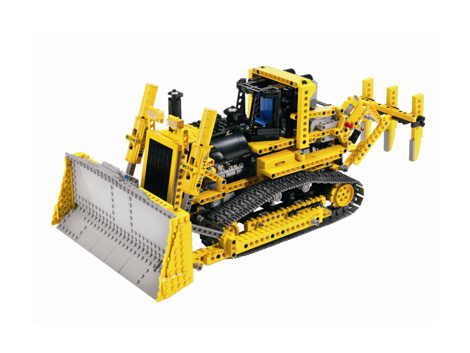 lego technic 8275 rc bulldozer mit motor. Black Bedroom Furniture Sets. Home Design Ideas