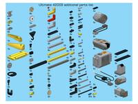 LEGO Technic 42009 - C-Modell Teileliste (nicht inkl.)
