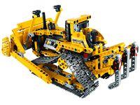 LEGO Technic 42028 - A-Modell Rückansicht mit Aufreisser
