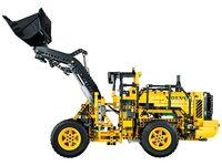 LEGO Technic 42030 - A-Modell Seitenansicht links