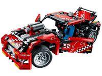 LEGO Technic 42041 - B-Modell Türen und Heckklappe geöffnet