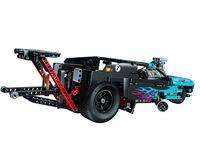 LEGO Technic 42050 - A-Modell Rückansicht