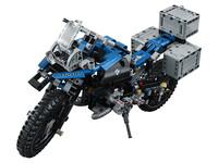 LEGO Technic 42063 - A-Modell Seitenansicht vorne links