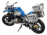 LEGO Technic 42063 - A-Modell Seitenansicht hinten links