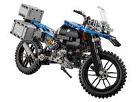 LEGO Technic 42063 - A-Modell Seitenansicht vorne rechts