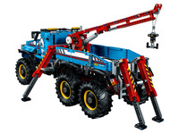 LEGO Technic 42070 - A-Modell Stützen ausgefahren