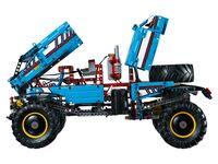 LEGO Technic 42070 - B-Modell Motorhaube offen
