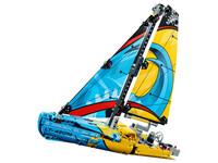 LEGO Technic 42074 - Rennyacht - A-Modell Seitenansicht links