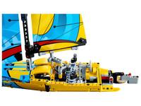 LEGO Technic 42074 - Rennyacht - A-Modell Heck