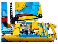 LEGO Technic 42074 - Rennyacht - B-Modell Heck