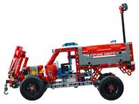 LEGO Technic 42075 - A-Modell Seitenansicht links