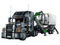 LEGO Technic 42078 - Truck Mack Anthem - A-Modell Stützen ausgefahren