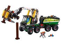 LEGO Technic 42080 - A-Modell Säge ausgefahren