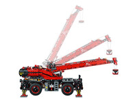 LEGO Technic 42082 - A-Modell Kranarm beweglich