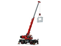 LEGO Technic 42082 - A-Modell Kran und Stützen ausgefahren