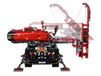 LEGO Technic 42082 - B-Modell Werkzeug und Stützen ausgefahren