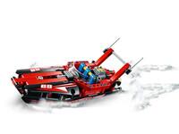 LEGO Technic 42089 - A-Modell Seitenansicht vorne links