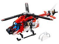 LEGO Technic 42092 - A-Modell Seitenansicht vorne links