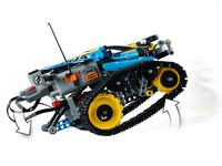 LEGO Technic 42095 - A-Modell Seitenansicht rechts mit Wheelie