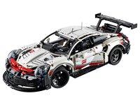 LEGO Technic 42096 - A-Modell Seitenansicht vorne links