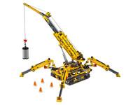 LEGO Technic 42097 - A-Modell Kran und Stützen ausgefahren