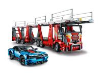 LEGO Technic 42098 - A-Modell Seitenansicht vorne rechts