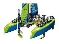 LEGO Technic 42105 - A-Modell Seitenansicht vorne links mit Tragflügel