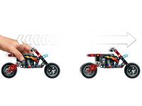 LEGO Technic 42106 - A-Modell Motorrad Seitenansicht rechts