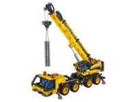 LEGO Technic 42108 - A-Modell Kran und Stützen ausgefahren