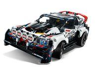 LEGO Technic 42109 - A-Modell Seitenansicht vorne links