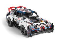 LEGO Technic 42109 - A-Modell Seitenansicht vorne rechts