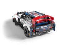 LEGO Technic 42109 - A-Modell Seitenansicht hinten links