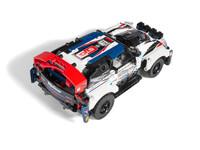 LEGO Technic 42109 - A-Modell Aufsicht hinten rechts