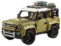 LEGO Technic 42110 - A-Modell Seitenansicht vorne links