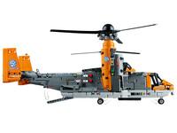 LEGO Technic 42113 - A-Modell Ladeluke offen und Rotoren nach oben
