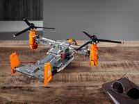 LEGO Technic 42113 - A-Modell mit Pilotenbrille