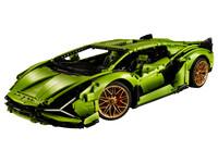 LEGO Technic 42115 - A-Modell Seitenansicht vorne links