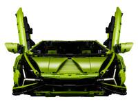 LEGO Technic 42115 - A-Modell Front mit Scherentüren offen