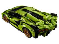 LEGO Technic 42115 - A-Modell Aufsicht hinten links