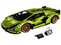 LEGO Technic 42115 - A-Modell Seitenansicht vorne links mit Tasche
