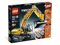 LEGO Technic 8043 - Motorisierter Raupenbagger - Box