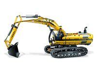 LEGO Technic 8043 - Motorisierter Raupenbagger - A-Modell Seitenansicht links