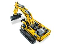 LEGO Technic 8043 - Motorisierter Raupenbagger - A-Modell Aufsicht
