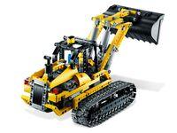 LEGO Technic 8043 - Motorisierter Raupenbagger - B-Modell Heck