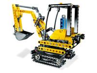 LEGO Technic 8047 - A-Modell Seitenansicht links