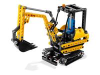 LEGO Technic 8047 - A-Modell Seitenansicht vorne links