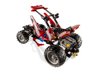 LEGO Technic 8048 - A-Modell Cockpit offen