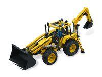 LEGO Technic 8069 - A-Modell Stützen ausgefahren