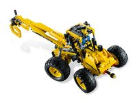 LEGO Technic 8069 - B-Modell Heck