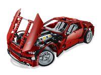 LEGO Technic 8070 - A-Modell Motorhaube offen